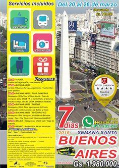BUENOS AIRES VIP - Semana Santa 2016