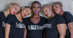How to Maintain a Bald look - SC Momentum Monthly Short Hair Cuts, Short Hair Styles, Bald Head Women, Bald Look, Bald Girl, Bald Heads, African American Women, Black Is Beautiful, Beautiful Lips