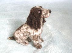 Needle Felted Dog /Custom Miniature Sculpture of by GourmetFelted