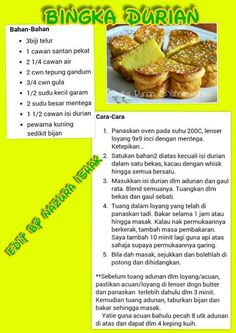 Spicy Recipes, Asian Recipes, Resep Cake, Asian Cake, Malay Food, Malaysian Food, Asian Desserts, Indonesian Food, Bakeries