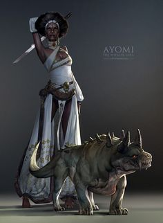 Ayomi, Sam Hogg on ArtStation at https://www.artstation.com/artwork/kOlol