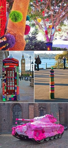 Yarn Bombing ~ Our Voice In English