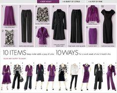 10 items, 10 ways: Deep Violet Adds a Pop of Color