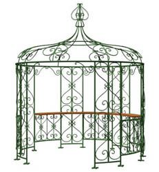 Metal gazebos are perfect for those who want quality time outdoors but just wish to get away from the hassles of maintaining a wooden gazebo. Just because your patio or garden gazebo is made of metal does not mean you are sacrificing your style. Wood pavilions, especially the Victorian gazebo, emanate an Old World feel. However, you can recapture that romantic ambience with a metal gazebo design, as well. Metal gazebos are perfect as a pool lounge, hot tub shade...