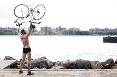 NYC Naked Bike Ride 2013