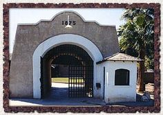 Yuma Territorial Prison -Yuma, AZ.   My husband and myself toured this prison in 2002. Was very interesting ,