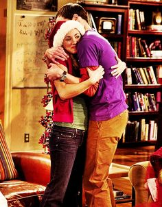The Big Bang Theory: Penny's first hug from Sheldon ever