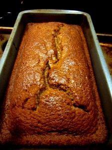 Gluten Free Pumpkin Loaf, Starbucks Pumpkin Loaf Recipe Copy Cat, #sweetphi
