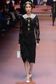 Catwalk photos and all the looks from #Dolce&Gabbana Autumn/Winter 2015-16 Ready-To-Wear Milan Fashion Week Follow us on instagram on: @Newyorkdoll.co.uk   Website: www.newyorkdoll.co.uk   #fashion  #fitness #fbloggers #personaltraining #styling #personalstyling #catwalk #fashionweek #fashionblogging #NYDStyle #MFW