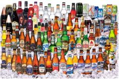 Nutrition facts, including calories, carbs, and alcohol percentage, for all of your favorite beer brands. Alcoholic Drinks, Beverages, Cocktails, Benefits Of Drinking Beer, Low Calorie Alcohol, Beer Images, Beer Pictures, Funny Pictures, Für Dummies