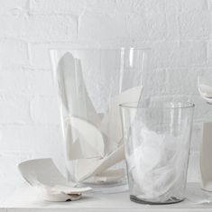Simple Glass Vases from Canvas, via Gardenista