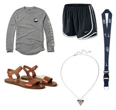"""outfit 16"" by sighshainax on Polyvore featuring NIKE and Hollister Co."
