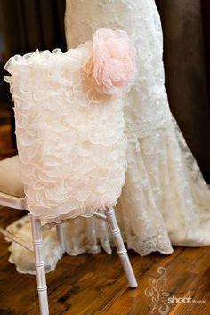 Lace Chair back Sweet Sixteen, Quinceañera, Wedding???