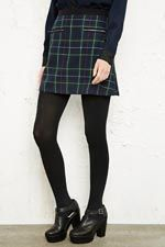 Cooperative Tartan Skirt in Blue at Urban Outfitters