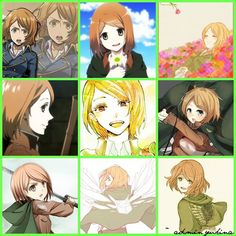 Aot Characters, Fictional Characters, Armin, Petra, Anime Love, Attack On Titan, Movies, Shingeki No Kyojin, Films