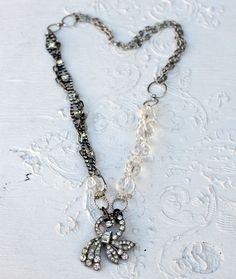 necklace rhinestone