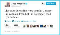 Words of Whedon