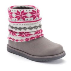SONOMA Goods for Life Girls' Sweater Cuff Ankle Boots