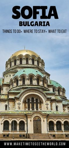 Wondering what to do in Sofia? Read This! Including suggestions for where to stay, what to eat, language tips & the Top Things to do in Sofia Bulgaria! ************************************************************************************ Sofia   Sofia Bulgaria   Things to do in Sofia   What to do in Sofia   Where To Stay in Sofia   What to eat in Sofia   Bulgaria Language Tips   Day Trips from Sofia   Vitosha Mountain   What to eat in Bulgaria   Sofia Travel Guide