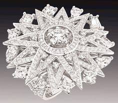 Chanel 1932 Collection - Cosmos Ring - House of Chanel (French, founded 1913) - Design by Gabrielle 'Coco' Chanel - @~ Mlle