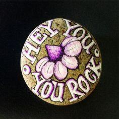 Hey you - you rock, by Lene Mortensen
