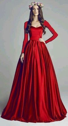 53beb7efc06b Absolutely stunning dramatic red gown GO TO  www.eva-darling.com INSTAGRAM