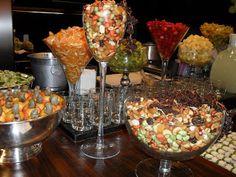 Bar de caipirinhas com mix nuts