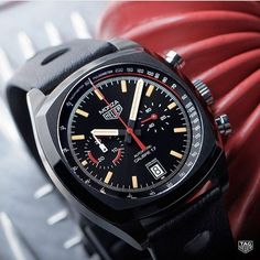 Tag Heuer Monza Black limited edition