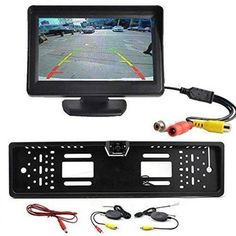 "58.03$  Watch now - http://alitxo.worldwells.pw/go.php?t=32712036052 - ""  4.3"""" TFT LCD Monitor + Wireless Car Backup Camera Rear View System Night Vision"""