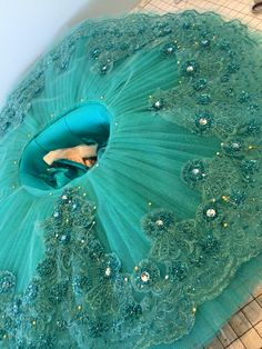 Dazzle on stage with this sea green tutu Tutu Costumes, Ballet Costumes, Doll Costume, Tutu Ballet, Ballet Dancers, Ballerinas, Dance Outfits, Dance Dresses, Bride Dress Simple