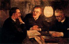 Munch, Edvard (1863-1944) - 1887 Jurisprudence (The National Gallery, Oslo, Norway)