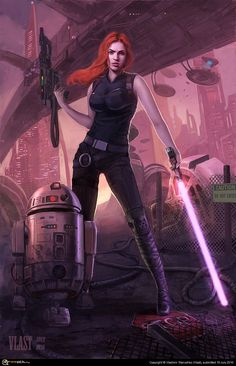 Mara Jade Skywalker one of the best female star wars characters! Description from pinterest.com. I searched for this on bing.com/images