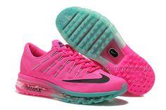 http://www.jordan2u.com/womens-nike-air-max-2016-running-shoes-pinkgreenblack.html WOMENS NIKE AIR MAX 2016 RUNNING SHOES PINK/GREEN-BLACK Only 73.09€ , Free Shipping!