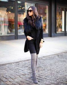 over-the-knee-boots-fluffy-coat