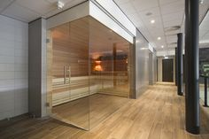 Sauna in Omega Spa, Soesterberg. Designed and realized by - Hotels Design Projects Steam Bath, Steam Room, Key Projects, Design Projects, Hotel Concept, Spa Center, Diy Home Decor, Omega, Luxury