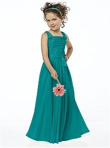 These flower girl dresses are so cute and they come in 25 different colors!