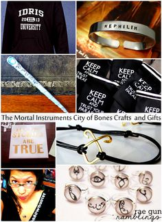 The Mortal Instruments City of Bones Crafts and Gifts