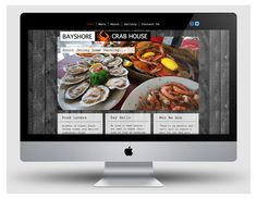 Website & food photography for Bayshore Crabhouse by cpwcreative.com