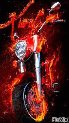 All animated gifs Skull Wallpaper, Music Wallpaper, Screen Wallpaper, Motorcycle Art, Bike Art, Art Moto, Motion Images, Foto Gif, Ghost Rider Marvel
