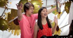 SHINE, PILIPINAS! - ABS-CBN Summer Station ID 2015 (Recording Music Video)