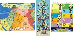 Bible Posters for Kids, Set of 3