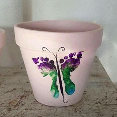 Pottery painting ideas with grandkids.