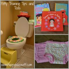 Potty Training Tips and Tools - Happy House of 5
