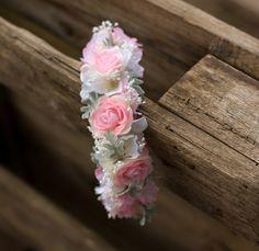 Hairbands – Flower headband – a unique product by evafleur on DaWanda