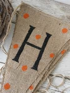 burlap flag garlands - Bing Images