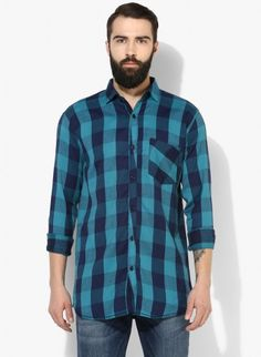 Buy Checked Brush Twill Casual Shirt Online at Low prices in India on Winsant  #shirts #casualshirt #mensfashion #fashionblogger #fashion #style #winsant #pinterestmarketing #pinterest How To Roll Sleeves, Short Sleeves, Formal Shirts For Men, Online Shopping Websites, Check Shirt, Lingerie Set, Workout Shirts, Outfit Sets, Tee Shirts
