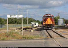 RailPictures.Net Photo: MNN 1383 Minnesota Northern EMD GP9 at Roseau, Minnesota by Brian Kays