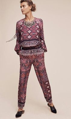 832aec8afae new anthropologie Twelfth Street by Cynthia Vincent Rosewood jumpsuit size  M  CynthiaVincent  Jumpsuit Bohemian
