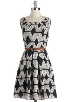 Graphic Gourmet Dress