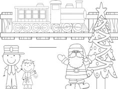 free polar express coloring book pinterest coloring books